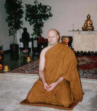 Todd Meditating